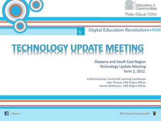 Technology update meeting
