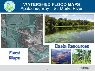 WATERSHED FLOOD MAPS Apalachee Bay  – St. Marks River
