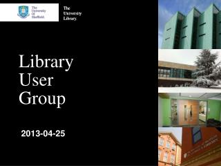 Library User Group