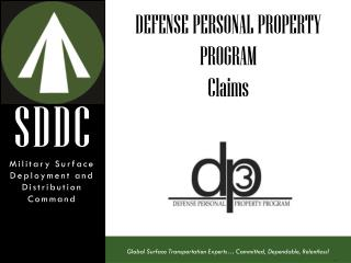 DEFENSE PERSONAL PROPERTY PROGRAM Claims