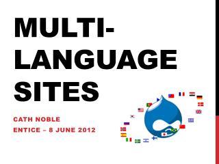 Multi-language sites