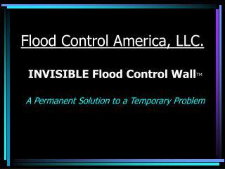 Flood Control America, LLC.