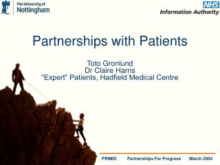 Partnerships with Patients