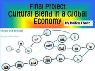 Final Project Cultural Blend in a Global  Economy
