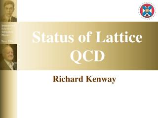 Status of Lattice QCD