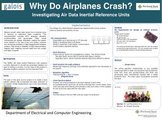 Why Do Airplanes Crash? Investigating Air Data Inertial Reference  Units