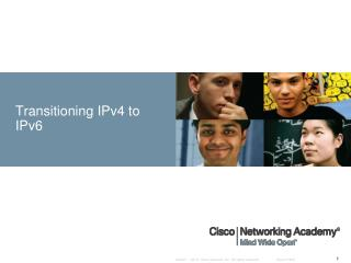 Transitioning IPv4 to IPv6