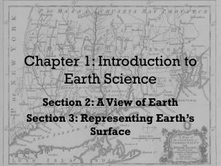 Chapter  1 : Introduction to Earth Science
