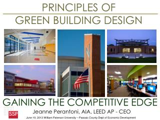 PRINCIPLES OF  GREEN BUILDING DESIGN