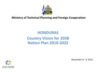 Ministry of Technical Planning and Foreign Cooperation