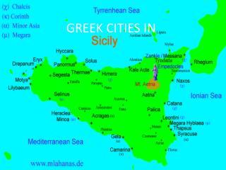 GREEK CITIES IN