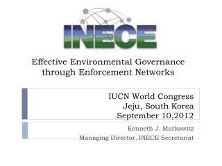 IUCN World Congress Jeju, South Korea September 10,2012