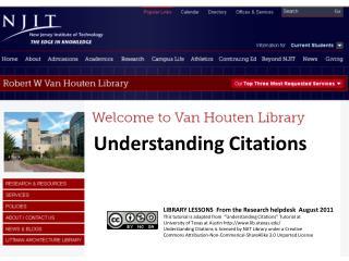 Understanding Citations