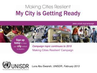 unisdr/campaign