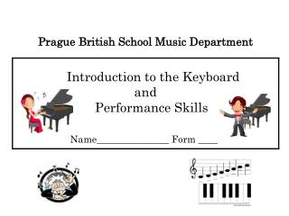 Introduction to the Keyboard                              and