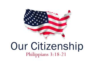 Our Citizenship