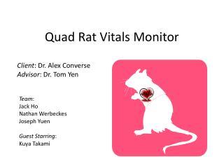Quad Rat Vitals Monitor