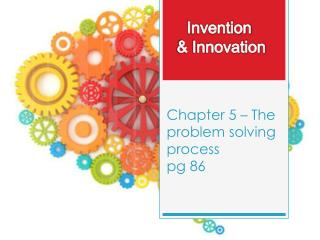 Chapter 5 – The problem solving process pg  86