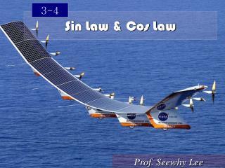 Sin Law & Cos Law