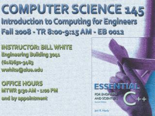 COMPUTER SCIENCE 145