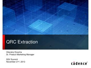 QRC Extraction