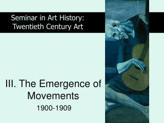 III. The Emergence of Movements