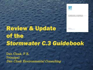 Review & Update of the Stormwater C.3 Guidebook