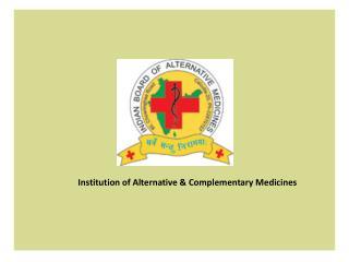 Alternative Medicine Institute
