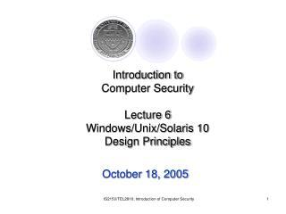 October 18, 2005