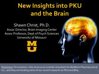 New Insights into PKU  and the Brain