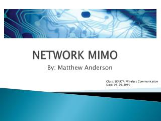 NETWORK MIMO