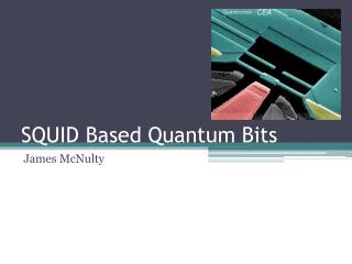 SQUID Based Quantum Bits