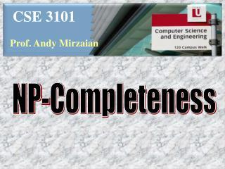 CSE 3101