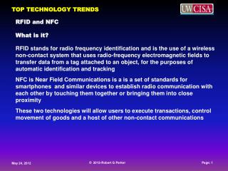 RFID and NFC