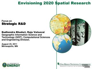 Envisioning  2020  Spatial Research