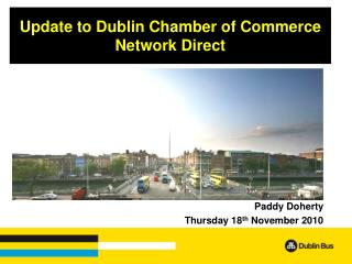 Update to Dublin Chamber of Commerce Network Direct