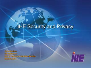 IHE  Security and Privacy
