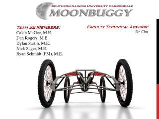 Team  32 Members: Caleb McGee, M.E. Dan Rogers, M.E. Dylan  Sartin , M.E. Nick Sager, M.E.