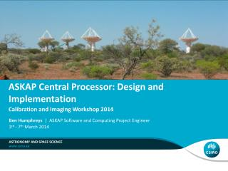ASKAP Central Processor: Design and Implementation