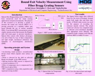 Round Exit Velocity Measurement Using  Fiber Bragg Grating Sensors