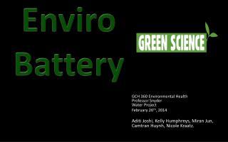 Enviro Battery