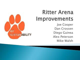 Ritter Arena Improvements