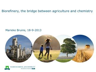 Biorefinery , the bridge between agriculture and chemistry