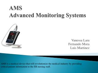 AMS Advanced Monitoring Systems
