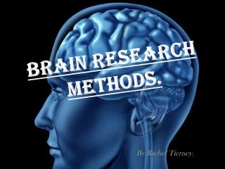 Brain Research Methods.