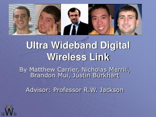 Ultra Wideband Digital Wireless Link