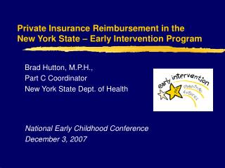 Private Insurance Reimbursement in the  New York State – Early Intervention Program