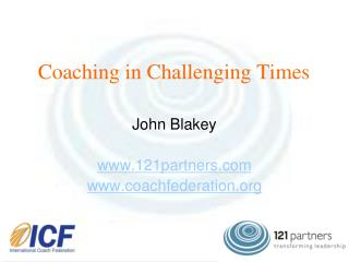Coaching in Challenging Times