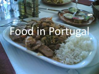 Food in Portugal