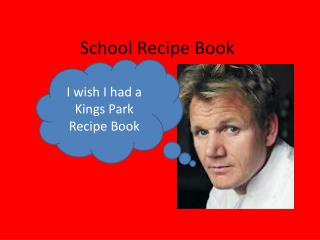 School Recipe Book